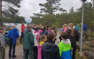 Suomen luonnon päivän geokätköilytyöpaja 26.8.2017
